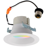 Nora Lighting NLPR-442RGBW/WW Prism White Recessed Downlight
