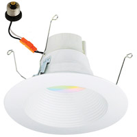 Nora Lighting NLPR-5641RGBW/WW Prism White Recessed Downlight