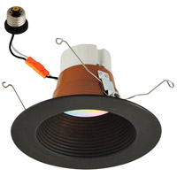 Nora Lighting NLPR-5642RGBW/BZBZ Prism Bronze Recessed Downlight