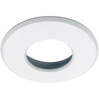 Nora Lighting NM1-RSSW M1 White Stainless Steel Trim