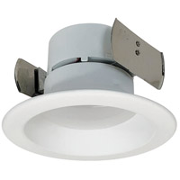 Nora Lighting NOX-43130WW Onyx White Recessed Trim Retro Style