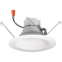 Nora Lighting NOX-563127WW Onyx White Recessed Trim Retro Style