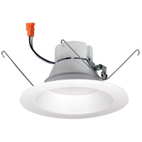 Nora Lighting NOX-563227WW Onyx White Recessed Trim Retro Style