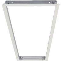Nora Lighting NPD-14RFK/W Edge Lit Panel White Flange Kit Panel Light Sold Separately