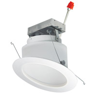 Nora Lighting NRMC-6S11L8540W Marquise White Recessed Downlight