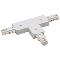 Nora Lighting NT-314W 1-circuit White T Connector