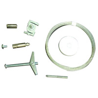 Nora Lighting NT-355/8 1-circuit Suspension Kit Ceiling Light