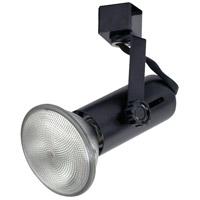 Nora Lighting NTH-109BE33 Universal 1 Light 120V Black Track Lamp Holder Ceiling Light