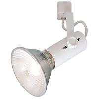 Nora Lighting NTH-109WE85 Universal 1 Light 120V White Track Lamp Holder Ceiling Light