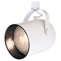 Nora Lighting NTH-131W/A Aaliyah 1 Light White Track Ceiling Light