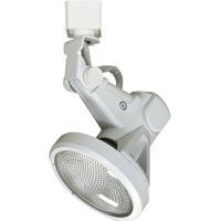 Nora Lighting NTH-132W/J Belgium 1 Light 120V White Track Head Ceiling Light
