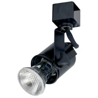 Nora Lighting NTH-138B/L Truly Universal 1 Light 120V Black Track Lamp Holder Ceiling Light