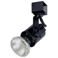 Nora Lighting NTH-138BE21 Truly Universal 1 Light 120V Black Track Lamp Holder Ceiling Light
