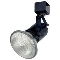 Nora Lighting NTH-138BE32 Truly Universal 1 Light 120V Black Track Lamp Holder Ceiling Light