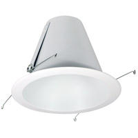 Nora Lighting NTM-710WAL Aaliyah White and Aluminum Recessed