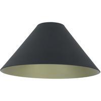 Nora Lighting NYLM-2CONECHB iLENE 1 Light 8 inch Champagne Haze / Black Fixture Shade Ceiling Light