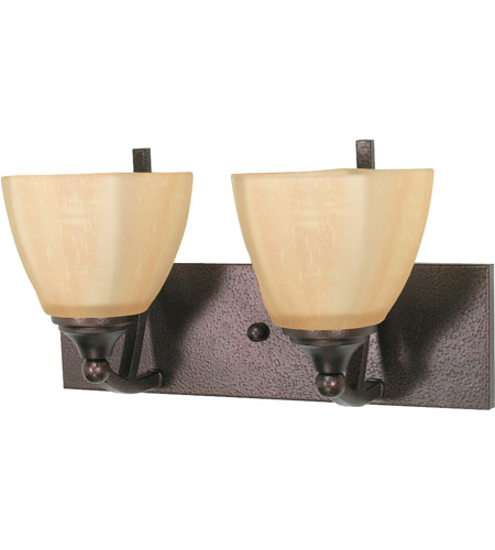 Nuvo 60/060 Normandy 2 Light 15 inch Copper Bronze Vanity & Wall Wall Light photo