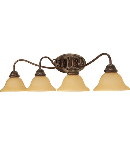 Nuvo Lighting Castillo 4 Light Vanity & Wall in Sonoma Bronze 60/1036 photo
