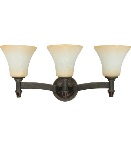 Nuvo Lighting Viceroy 3 Light Vanity & Wall in Golden Umber 60/1049 photo