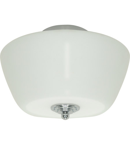 Nuvo Lighting Galileo 3 Light Flushmount in Polished Chrome 60/1081 photo