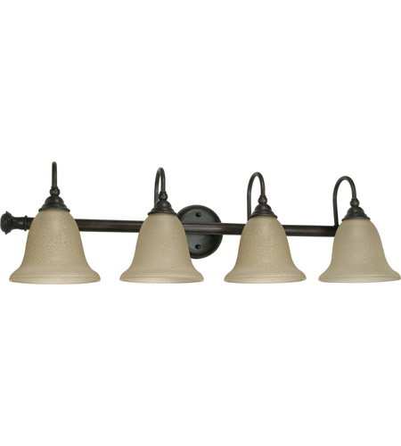 Nuvo 60/110 Mericana 4 Light 32 inch Old Bronze Vanity & Wall Wall Light photo