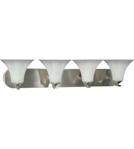 Nuvo Lighting Delano 4 Light Vanity & Wall in Brushed Nickel 60/1119 photo