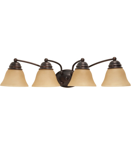 Nuvo Lighting Empire 4 Light Vanity & Wall in Mahogany Bronze 60/1273 photo