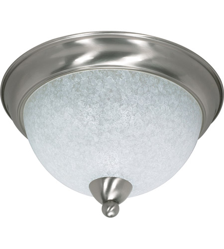 Nuvo 60/131 South Beach 3 Light 15 inch Brushed Nickel Flushmount Ceiling Light photo