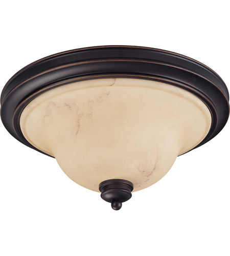 Nuvo Lighting Anastasia 2 Light Flushmount in Copper Espresso 60/1407 photo