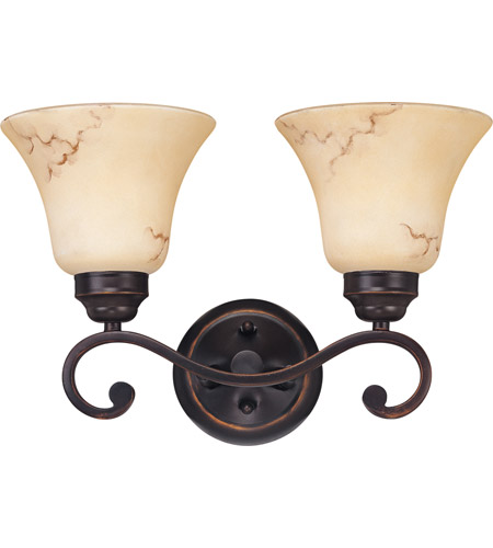 Nuvo 60/1413 Anastasia 2 Light 16 inch Copper Espresso Vanity & Wall Wall Light photo