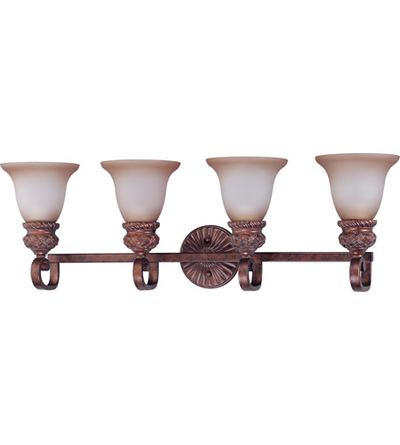 Nuvo Lighting Wesley 4 Light Vanity & Wall in Dark Plum Bronze 60/1594 photo
