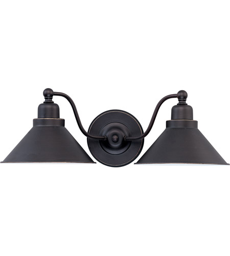 black bathroom vanity light nuvo lighting bridgeview 2 light vanity amp wall in mission 17386