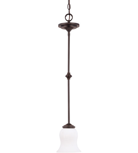 Nuvo Lighting Glenwood 1 Light Mini Pendant in Sudbury Bronze 60/1791 photo