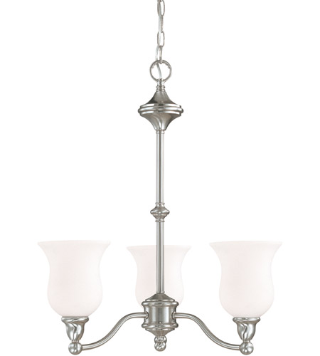 Nuvo Lighting Glenwood 3 Light Chandelier in Brushed Nickel 60/1801 photo
