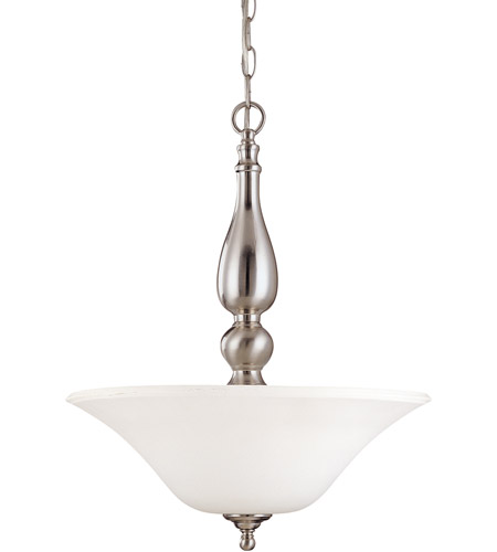 Nuvo 60/1908 Dupont 3 Light 16 inch Brushed Nickel Pendant Ceiling Light photo
