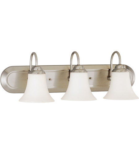 Nuvo Lighting Dupont 3 Light Vanity & Wall in Brushed Nickel 60/1914 photo