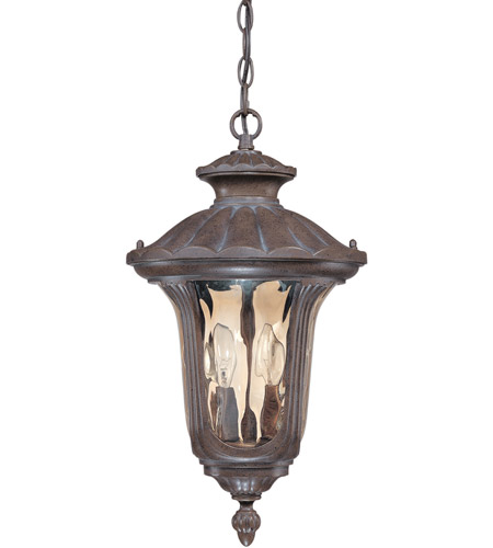 Nuvo 60/2008 Beaumont 2 Light 11 inch Fruitwood Outdoor Hanging Lantern photo