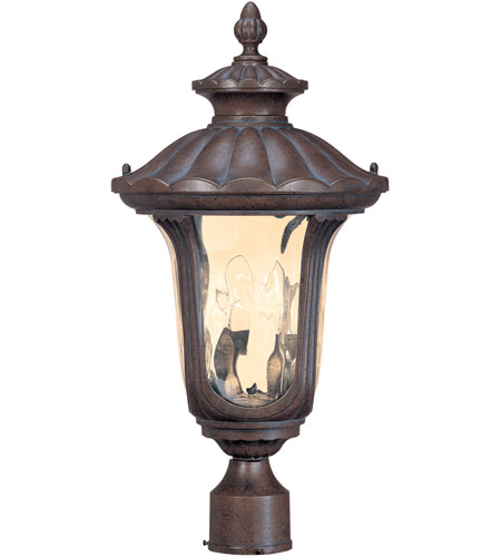 Nuvo Lighting Beaumont 2 Light Outdoor Post Lantern in Fruitwood 60/2009 photo
