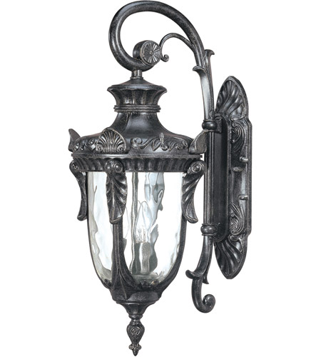 Nuvo Lighting Dunmore 3 Light Outdoor Wall Lantern in Greystone 60/2021 photo
