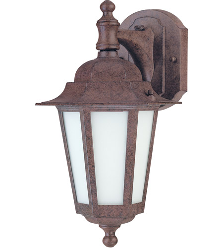 Nuvo 60/2205 Cornerstone Es 1 Light 13 inch Old Bronze Outdoor Wall Lantern photo