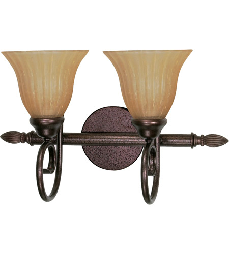 Nuvo 60/2412 Moulan 2 Light 18 inch Copper Bronze Vanity & Wall Wall Light photo