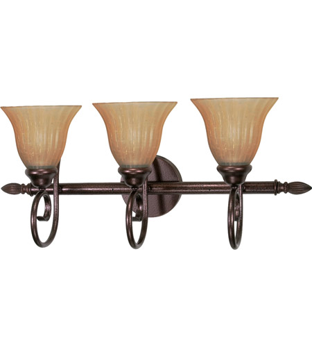 Nuvo 60/2413 Moulan 3 Light 25 inch Copper Bronze Vanity & Wall Wall Light photo