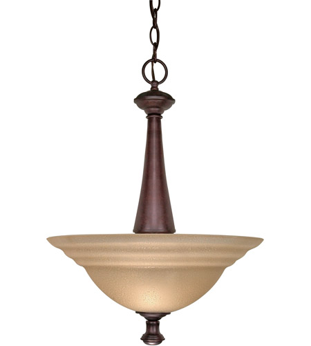 Nuvo Lighting Mericana 2 Light Pendant in Old Bronze 60/2418 photo