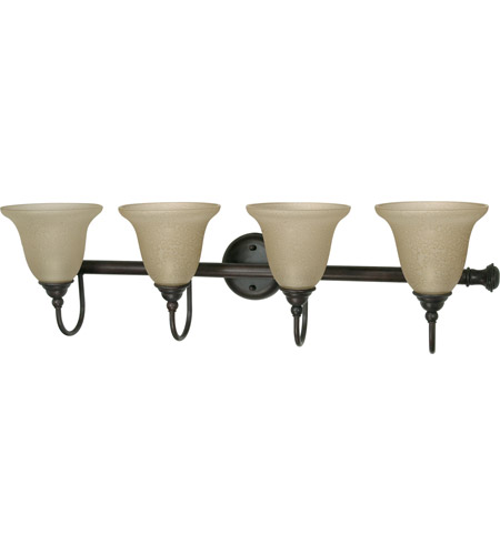 Nuvo Lighting Mericana 4 Light Vanity & Wall in Old Bronze 60/2425 photo