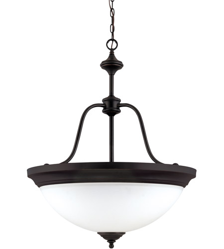 Nuvo Lighting Glenwood 4 Light Pendant in Sudbury Bronze 60/2431 photo
