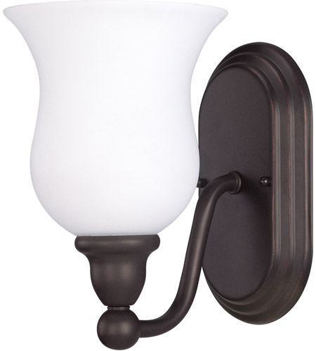 Bathroom Vanities Sudbury: Nuvo Lighting Glenwood 1 Light Vanity & Wall In Sudbury