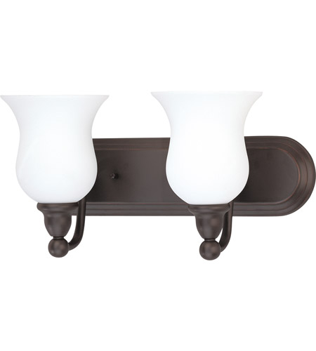 Nuvo Lighting Glenwood 2 Light Vanity & Wall in Sudbury Bronze 60/2438 photo