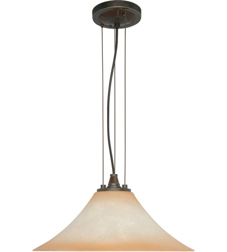 Nuvo Lighting Viceroy 1 Light Pendant in Golden Umber 60/2446 photo