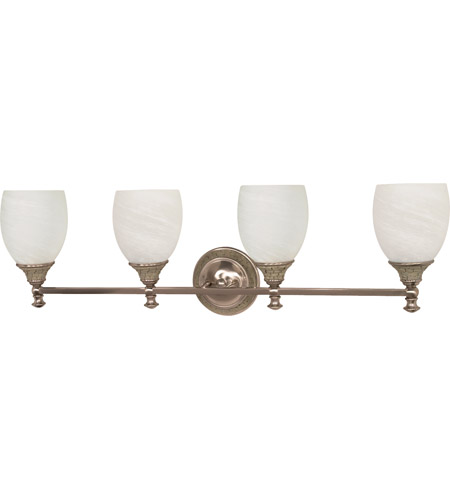 Nuvo Lighting Rockport Milano 4 Light Vanity & Wall in Brushed Nickel 60/2485 photo