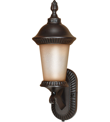 Nuvo Lighting Clarion 1 Light Outdoor Wall Lantern with Photocell in Chestnut Bronze 60/2501 photo